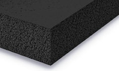 EPDM foam rubber sheet black